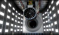 飞机发动机工作原理三维仿真动画
