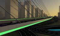 城市交通建筑三维漫游CG动画场景